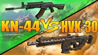 KN-44 VS HVK-30 (Call of Duty Black Ops 3 Assault Rifle Versus)