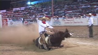 getlinkyoutube.com-accidente caballos de cala Campeonato Charro Ibarria 2015