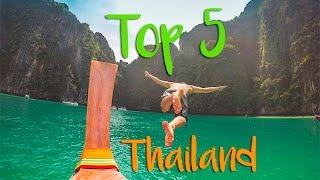 Top 5 Things To Do In Thailand | Bangkok | Koh Tao | Koh Phangan