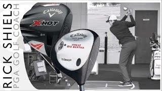 getlinkyoutube.com-Callaway Golf Great Big Bertha (1997) Vs Callaway X Hot (2013) Driver