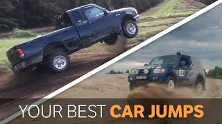 17 Crazy Car Jumps Performed By You