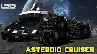 getlinkyoutube.com-Space Engineers - Planetary Exploration Vehicle, Asteroid Cruiser