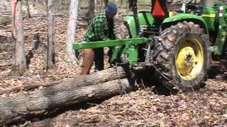 getlinkyoutube.com-farm tractor with skidding lever