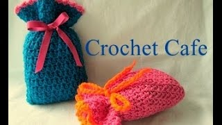 getlinkyoutube.com-كروشيه جراب أو كيس لحفظ الأغراض | كروشيه كافيه Crochet Cafe