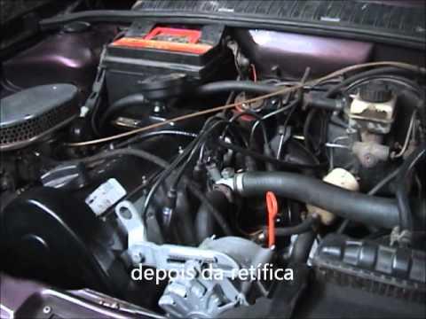 motor AP 1.8 depois da retifica - peças retífica