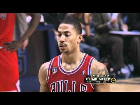 Chicago Bulls 4th Quarter Comeback vs Pacers (Game 4, 2011 Playoffs) [HD]