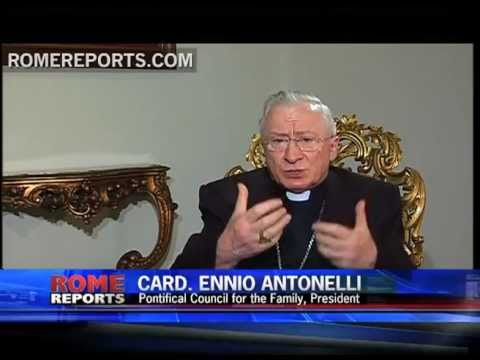 Cardinal Ennio Antonelli  World Meeting of Families will boost healthy family life