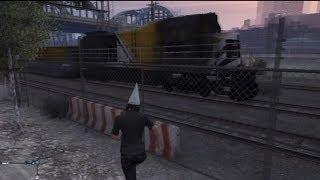 getlinkyoutube.com-GTA V Online: How I Stopped The God Train