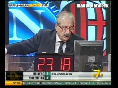 DirettaStadio 7Gold - Tiziano Crudeli in Napoli-Milan 3-1