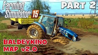 getlinkyoutube.com-Let's Play Farming Simulator 2015 | Baldeykino Map Part 2