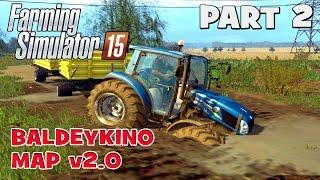 getlinkyoutube.com-Let's Play Farming Simulator 2015 | Baldeykino Map Part 2