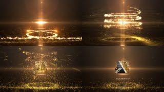 getlinkyoutube.com-Glowing Particle Logo Reveal 8 — After Effects project   Videohive template