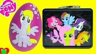 getlinkyoutube.com-My Little Pony Derpy Play Doh Surprise Egg with Cutie Mark Crusaders Surprises