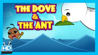 getlinkyoutube.com-THE DOVE and THE ANT Story | Kids Short Story