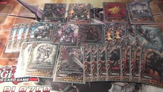 getlinkyoutube.com-Future Card Buddyfight Danger World Armorknight Deck Profile