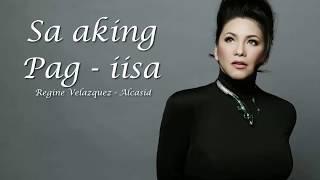 Sa aking pag - iisa Lyrics by Regine Velazquez
