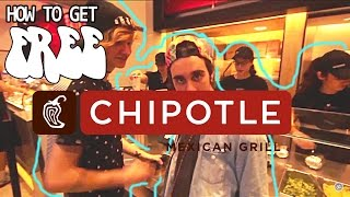 getlinkyoutube.com-HOW TO GET FREE CHIPOTLE (every day)  | FT Kyle David Hall Andrew Bisante Tabs24x7official