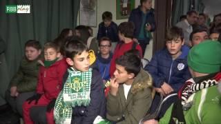 El Real Betis, en el 37º aniversario de la Peña Bética Javier López...