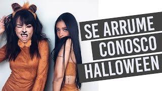 SE ARRUME CONOSCO - FESTA DE HALLOWEEN com Nicole Prazeres - Por Nathália Nogueira