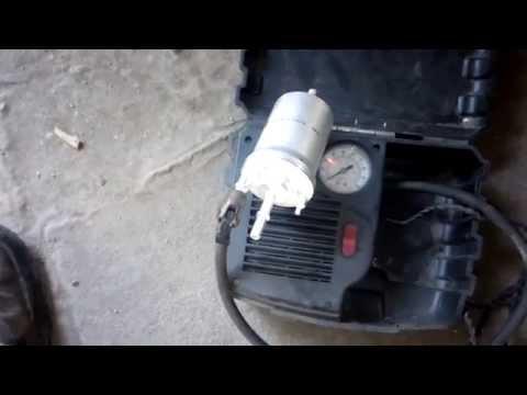 Замена топливного фильтра Шкода Октавия А5(Skoda Octavia A5)