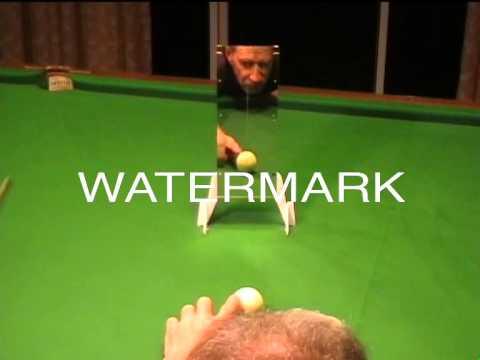 eBay listing Snooker , pool and billiards Cue Training Aid.  Listing item No. 141653254551
