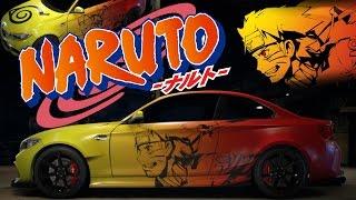 getlinkyoutube.com-Need for Speed 2015 Speed painting Anime Naruto Vinyl