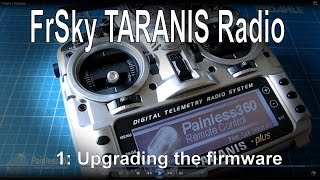 getlinkyoutube.com-(1/12) FrSky TARANIS Radio - One way to update the firmware
