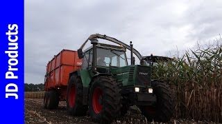 getlinkyoutube.com-Mais/2016/Claas Jaguar 940/Fendt 612/ Beltman/Almen/Harvesting maize/Maisernte