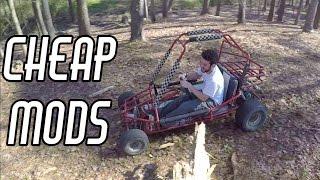 getlinkyoutube.com-Cheap Off Road Go Kart Performance Mods