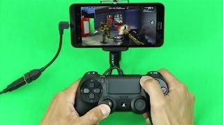 getlinkyoutube.com-ZenFone 2 4GB RAM - Using the PS3/PS4 Controller