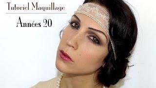 getlinkyoutube.com-Maquillage années 20/Gatsby (+coiffure et costume)