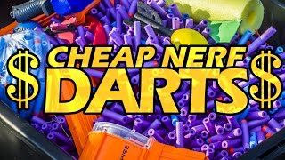 getlinkyoutube.com-CHEAP NERF DARTS
