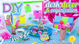 getlinkyoutube.com-DIY Desk Decor And Organization Ideas In Candy Style – How To Make Your Desk Looks Sweet