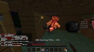 getlinkyoutube.com-Minecraft H1Z1 Episode 1, Raiding and Killing!