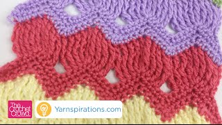 getlinkyoutube.com-How to Crochet Vintage Fan Ripple Stitch