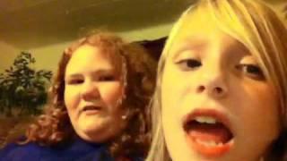 XXX HALA Peyton and Tiffany singin