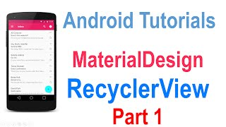 getlinkyoutube.com-225 Android RecyclerView Tutorial Part 1 | coursetro.com