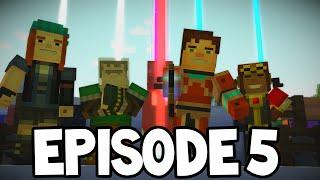 "getlinkyoutube.com-Minecraft Story Mode - EPISODE 5 Predictions! ""ORDER UP"""