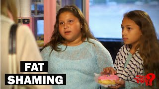 getlinkyoutube.com-Mother Fat Shames Daughter | What Would You Do? | WWYD