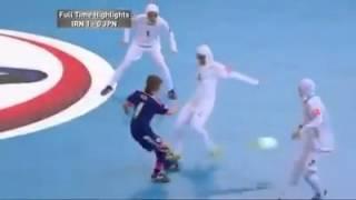 getlinkyoutube.com-تیم فوتسال بانوان ایران با تک گل فرشته کریمی به مقام قهرمانی رسید