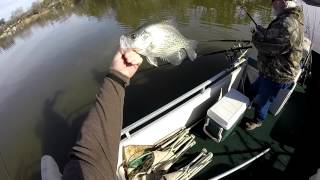 getlinkyoutube.com-Awesome Crappie Fishing!! Lot's of 2 LB Crappie...
