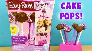 getlinkyoutube.com-Easy Bake Cake Pops - Baking Tiny Cake Pops for Kids Tutorial