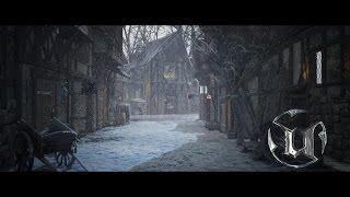 getlinkyoutube.com-Speed Level Design - Medieval Village Scene - Unreal Engine 4