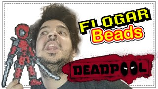 getlinkyoutube.com-DEADPOOL - DIY- Tutorial Pearl/Hama Beads para Gamers - FloGar o.O