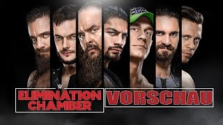 WWE Elimination Chamber / No Escape 2018 VORSCHAU / PREVIEW
