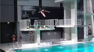 Girls A B 3m - Senet Diving Cup 2018