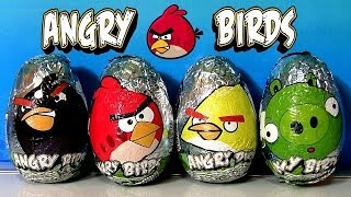getlinkyoutube.com-Angry Birds Easter Eggs Chocolate SURPRISE Bad Piggies Huevos Sorpresa by Funtoys