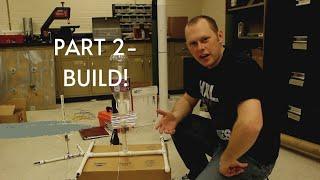 getlinkyoutube.com-How to build a water bottle rocket launcher: Part 2 of 2