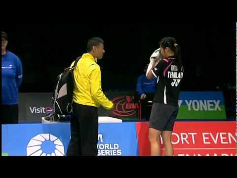 SF - WS - Wang Yihan vs Inthanon Ratchanok - 2011 Yonex Denmark Open