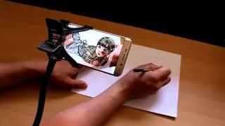 getlinkyoutube.com-تطبيق اندرويد خرافي لاسقاط اي صورة في هاتفك على ورقة حقيقية شيئ مذهل  يجب ان تجربه
